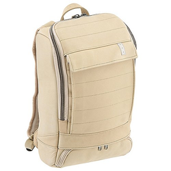 AEP Alpha Small Leather Rucksack 40 cm - solid ecru leather