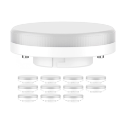 GX53 LED Strahler 6,3W=40W 450lm 100° weiß, 12 Stk.