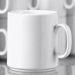 Esmeyer® Kaffeebecher Diane 280ml Porzellan weiß 6 St./Pack