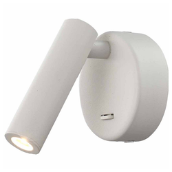 Mantra Wandleuchte Prea Wand LED-Leselampe Rund