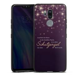 DeinDesign Handyhülle Schutzengel LG G7 ThinQ, Hülle Schutzengel Sprüche Spruch