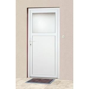 KM Zaun Haustür K601P, BxH: 88x188 cm, weiß, in 2 Varianten