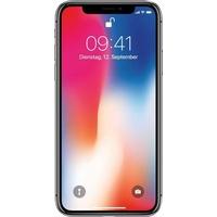 Apple iPhone X Smartphone (14,7 cm/5,8 Zoll, 64 GB Speicherplatz, 12 MP Kamera) grau