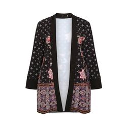 Kimono KIMONO MIT BORTE SPGWOMAN black