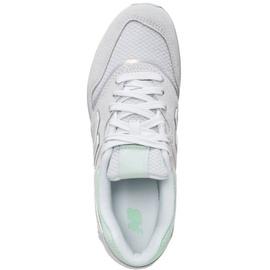 light grey-mint/ white, 37