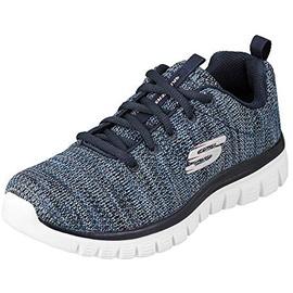 SKECHERS Graceful Twisted Fortune Sneaker mit Memory Foam blau 40