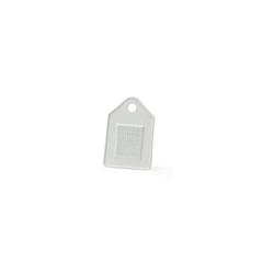 Nordic Sense Knoblauchreibe Porzellan Weiß 13 cm x 9 cm