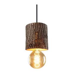 ZMH Pendelleuchte Holz Hängeleuchte Pendellampe Höhenverstellbar Esstischlampe Vintage in Hirtenstil
