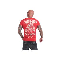 YAKUZA T-Shirt Hey Satan rot 2XL