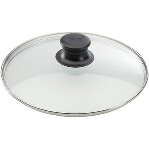 ELO Glasdeckel mit Edelstahlrand Kunststoffknopf 20 cm