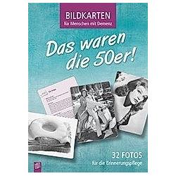 Bildkarten für Menschen mit Demenz: Das waren die 50er!, 32 Bildktn.