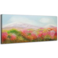 YS-Art Gemälde Tal der Blumen 028
