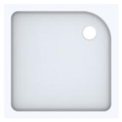 Geberit Duschwanne TALA 800 x 800 x 72 mm weiß