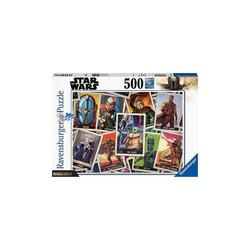 Ravensburger Puzzle Puzzle Star Wars: Mandalorian, 500 Teile, Puzzleteile