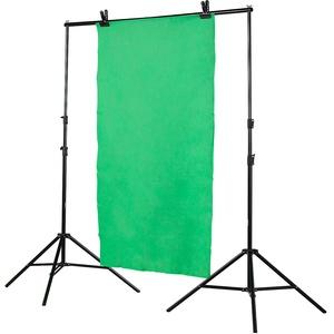 Somikon Greenscreen: Höhenverstellbares Fotohintergrund-System (Fotohintergrundsystem)