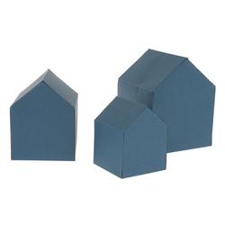 VBS Malschablone Häuser Schablonen-Set, 3 Stück