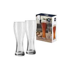 LEONARDO Bierglas MAXIMA Weizenbierglas Weißbierglas 0,5l (2-tlg)