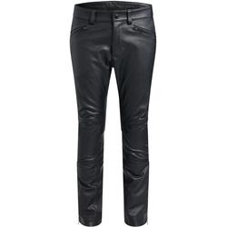 Belstaff Fender Motorrad Lederhose, schwarz, Größe 58