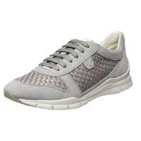 Damen D Theragon C Sneaker, Grau (Lt Grey), 38 EU Geox