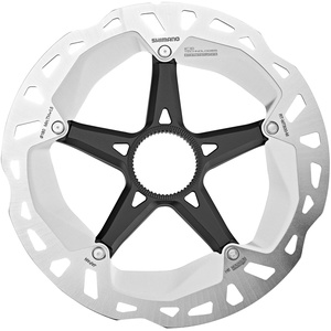 Shimano RT-MT800 Bremsscheibe Center-Lock silver/black 160mm 2020 Bremsscheiben silber 160mm