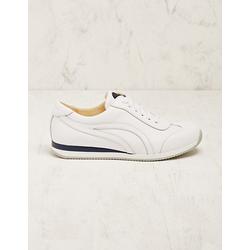 Deerberg Damen Leder-Sneaker Voula weiß