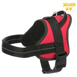 Julius-K9 Pure Geschirr rot, Größe: 0/M-L