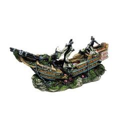 Aqua Ornaments Boot mit LED, 44,5 x 16,0 x 20,0 cm