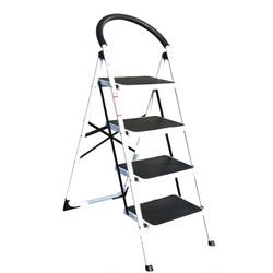 Stahlleiter klappbar mit sicherheitsgriff, 4 stufen