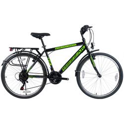 Rezzak Cityrad 24 Zoll Kinder Fahrrad Jungen Fahrrad City Fahrrad 21 Gang RH 43 cm -047, 21 Gang Shimano, Kettenschaltung