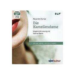 Die Kameliendame  1 MP3-CD - Hörbuch