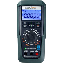 Gossen Metrawatt METRAHIT PM TECH Hand-Multimeter kalibriert (DAkkS-akkreditiertes Labor) digital An