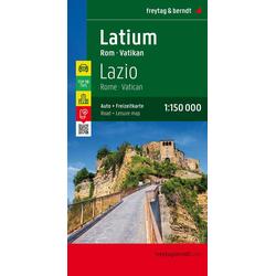 Latium - Rom - Vatikan 1 : 150 000