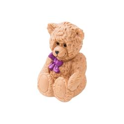 HMF Spardose 489, Teddybär mit Schlüssel, 11,5 x 17 x 11,5 cm
