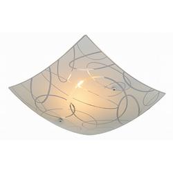 Trio Leuchten Deckenleuchte Spirelli in weiß, 30 x 30 cm