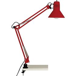 Hobby Schreibtischklemmleuchte rot