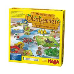 Haba Spielesammlung, HABA 302282 Meine große Obstgarten-Spielesammlung