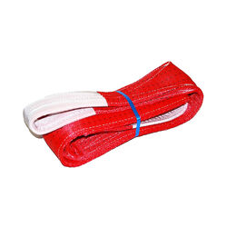 Hebeband, Gurtband Rot, 150mm x 6m, 5t