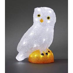 Konstsmide 6185-203 Acryl-Figur Eule LED Weiß
