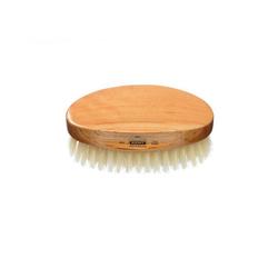 KENT Ovale Herren Haarbürste aus Kirschholz