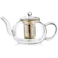 Creano Glas Teekanne doppelwandige 1,2 l