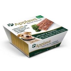 APPLAWS Hundefutter nass mit Rind & Gemüse 150 g