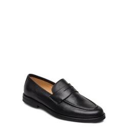 Morris Penny Loafers Loafers Flache Schuhe Schwarz MORRIS Schwarz 42,44,43