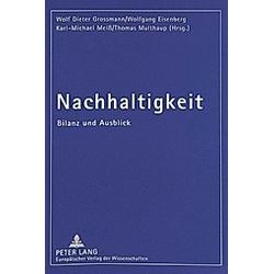 Nachhaltigkeit - Buch