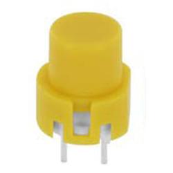 Eingabetaster  0,1 A 32 V DC, rund, gelb