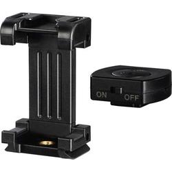 Hama Pro II Smartphone-Halter 1/4 Zoll Schwarz inkl. Smartphonehalter