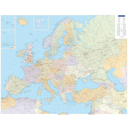 KuF Europa politisch 1 : 4 500 000. Poster