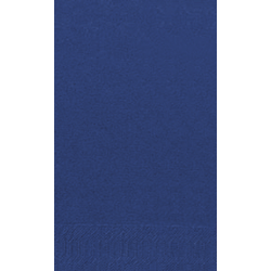 Duni Zelltuch Servietten 40x40 3lg 1/8 BF dunkelblau - 4x250 Stück