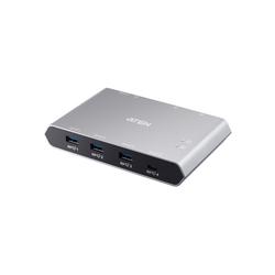 Aten US3342 2-Port USB-C Gen 2 Sharing Switch USB-Kabel