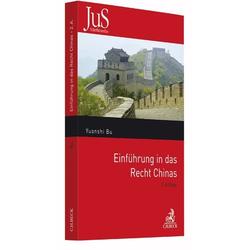 Einführung in das Recht Chinas als Buch von Yuanshi Bu
