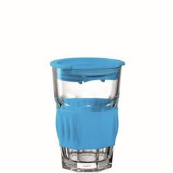 Becher TO GO blau(D 9 cm)